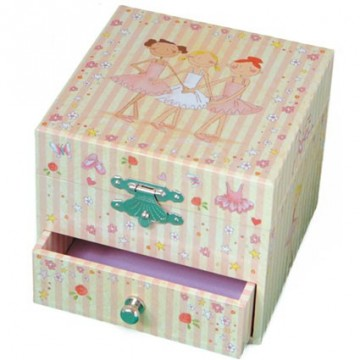 Coffret musical cube Ballerines