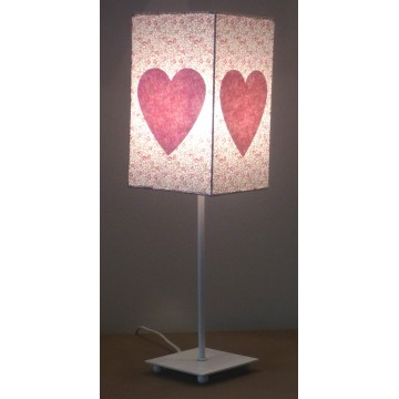 Lampe de chevet Liberty rose