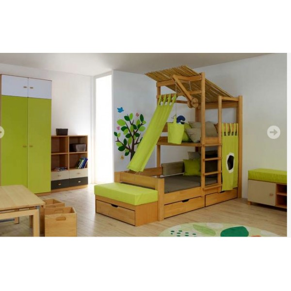 lit enfant cabane de breuyn bambins d co. Black Bedroom Furniture Sets. Home Design Ideas