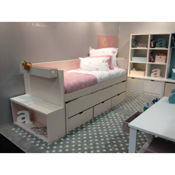 lit enfant combi mobile bahia bambins d co. Black Bedroom Furniture Sets. Home Design Ideas