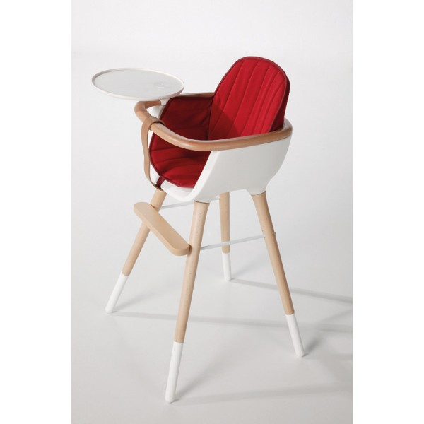 Coussin pour chaise haute ovo bambins d co - Coussin pour chaise bebe ...