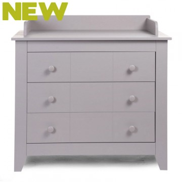 Commode 3 tiroirs Flemish Stone grey