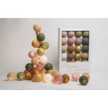 Guirlande boules 20 ampoules Greenwich