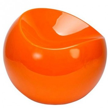 Ball Chair standard orange
