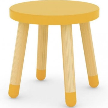 Tabouret enfant jaune Flexa Play