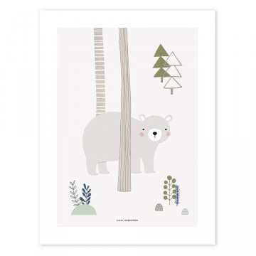 Affiche Ours In the Wood