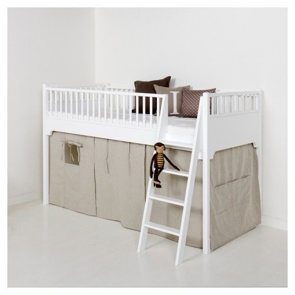 Rideau pour low mezzanine seaside collection bambins d co - Rideau pour lit mezzanine ...