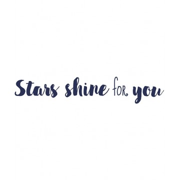 Sticker XL stars shine for you